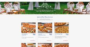 where to do a wedding registry domino s now offers a wedding registry for pizza brand