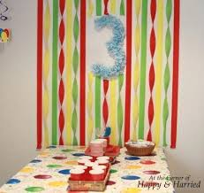 How To Make Birthday Decorations At Home Best 25 Streamer Wall Ideas On Pinterest Party Wall Decorations