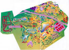 Six Flags Ma Theme Park Brochures Six Flags Kentucky Kingdom Theme Park Brochures