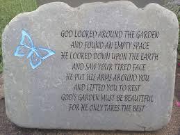 engraved stones custom engraved memorial stones