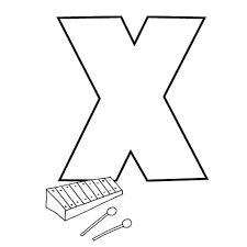 coloriage lettres alphabet batman x a z lettres batman