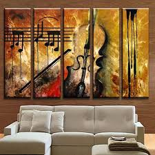 home decor group aliexpress com buy hand painted music paintings for living room