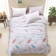 Peacock Feather Comforter Nursery Beddings Peacock Feathers Duvet Cover Set 100 Cotton