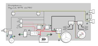 simplified cb750 diagram