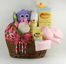 new care package new baby girl care package with decorated bassinet basket
