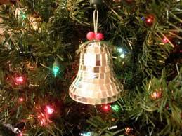 noma ornamotion rotating ornament mirror bell collectables 1989