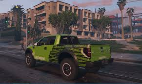 hoonigan truck hoonigan stars and stripes livery for f150 raptor gta5 mods com