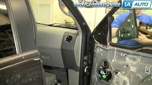 how to install replace side rear view mirror ford f 150 04 08