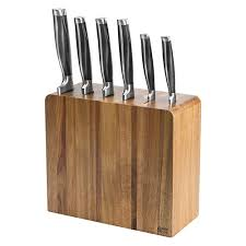 kitchen knives block set oliver six knife block set harts of stur