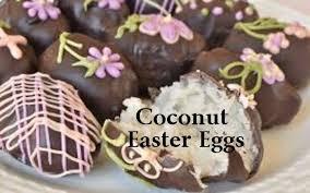coconut eggs easter coconut easter eggs tea