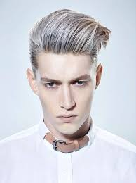 haircuts for white hair 71 best men s platinum hair images on pinterest hombre hairstyle