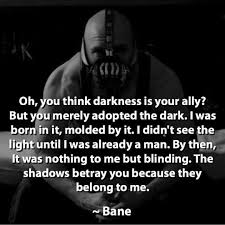 my favorite quote from the dark knight rises comment yours