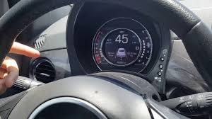 using manual mode in a fiat 500 sport youtube