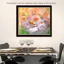 diy handmade diamond painting set butterfly roses resin sales