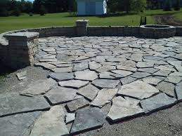 Dry Laid Bluestone Patio by All Terra Landscape Services Llc Landscape Design Firms In