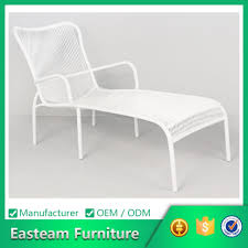 Plastic Lounge Chair Outdoor Furniture Home Resin White Outdoor Lounge Chairs Patio Chairs