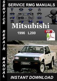 1996 mitsubishi l200 service repair manual download download manu