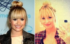 Pony Frisur by Neuer Look Demi Lovato Trägt Jetzt Pony Frisur Cosmopolitan