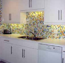 kitchen backsplashes with white cabinets what color backsplash with white cabinets the kitchen backsplash