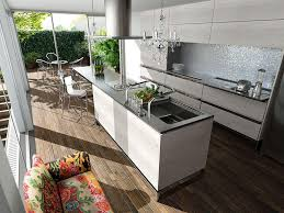 Rustic Modern Kitchen by The Zhush Modern Kitchen Bliss Carrara Marble White Cabinets Brass