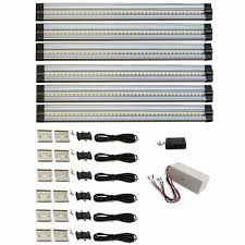 hardwire led strip lights led under cabinet lighting hardwire new macleds 12 in 4000k neutral