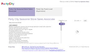 party city job application u0026 career guide job application review
