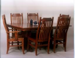 Dining Room Furniture Made In Usa Oak Dining Room Set With 6 Chairs Farmhouse Table For Sale