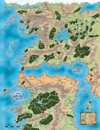 Map Of Faerun Candlekeep Forum Map Of Toril V S Map Of Pathfinder Inner Sea