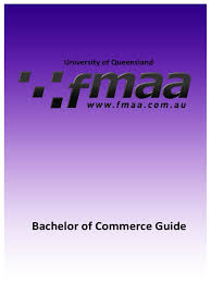 bachelor of commerce guide 2017 accounting statistics