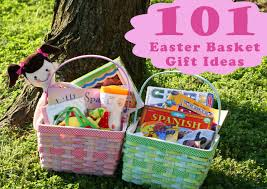 basket gift ideas 101 kids easter basket ideas the creative