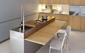 kitchen island with pull out table