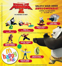 mcd happy meal u201ckung fu panda 2 u201d toys u2013 happy meal toys