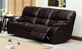 2 Seat Leather Reclining Sofa by Furniture Leather Reclining Loveseat Power Recliner Sofa