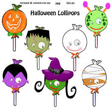 halloween lollipop clipart u2013 festival collections