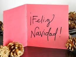 feliz navidad christmas card feliz navidad handmade card hgtv