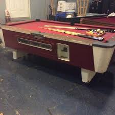 Valley Bar Table Vintage Valley Bar Style Pool Table 7 5ft Sports Outdoors In