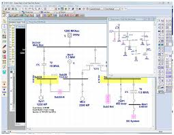management software package one line diagram etap videos