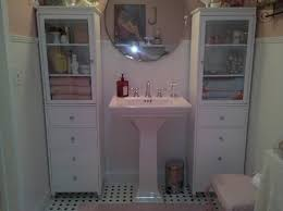 Shabby Chic Bathroom Ideas Pink Shabby Chic Bathroom Square White White Modern Sink Rounded