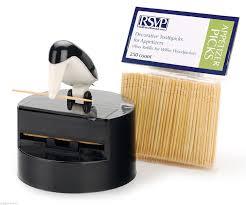 rsvp willie woodpicker toothpick dispenser holder appetizer