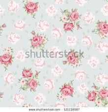 Shabby Chic Kitchen Wallpaper by Shabby Chic Roses Background Vintage Pattern Shabby Chic
