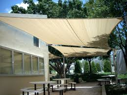 Porch Sun Shade Ideas by Backyard Shade Sail Ideas Clanagnew Decoration