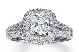 kay jewelers promise rings engagement rings diamond engagement ring 2 7 8 ct tw cushion cut