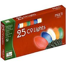 c9 christmas lights 2924 88 christmas lights set multi