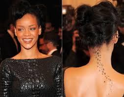 the 25 best rihanna star tattoo ideas on pinterest rihanna neck