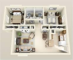 Modern 2 Bedroom Apartment Floor Plans 2 Bedroom Apartment Floor Plans Capitangeneral
