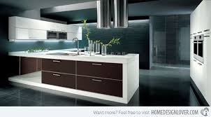 simple of modern kitchen with island 15 unique and modern kitchen
