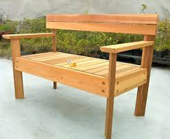 Outdoor Wooden Bench With Storage Plans by Outdoor Wooden Bench Designs Ammatouch Photo With Extraordinary