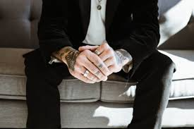 hand man rings images Free images hand man suit male finger tattoo sitting jpg