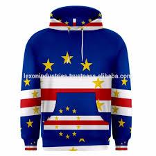 Flag Cape Cape Verde Flag Sublimated Sublimation Men U0027s Hoodie All