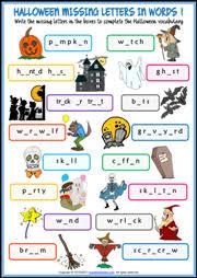 halloween vocabulary photo album halloween ideas